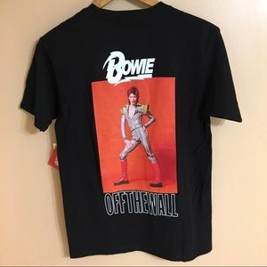 New Vans x David Bowie t shirt men's small